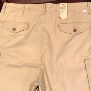 New Levi's Carrier Cargo Shorts Size 38